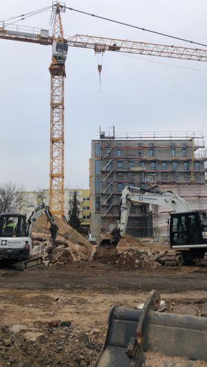 2. Bauabschnitt in Mühlheim