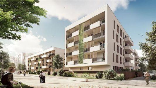 Mainz Hechtsheimer Strasse Wohnungsbau Perspektive